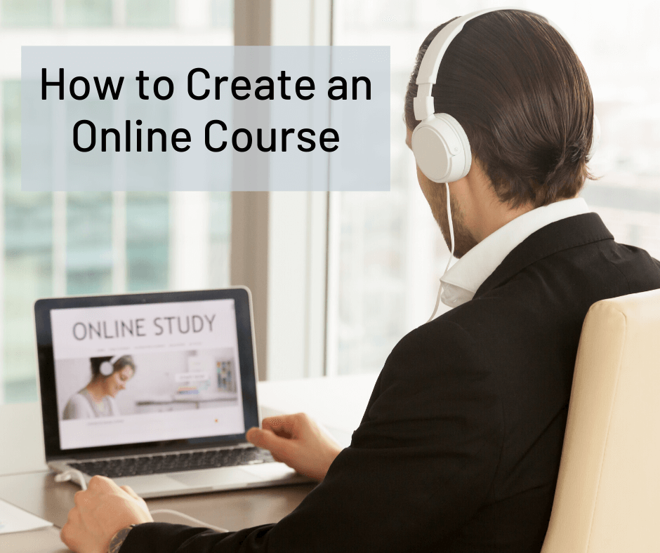 how to create online course